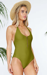 MALIBU MAILLOT IN PALM