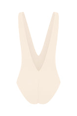 THE PLUNGE FULL-PIECE IN IVORY