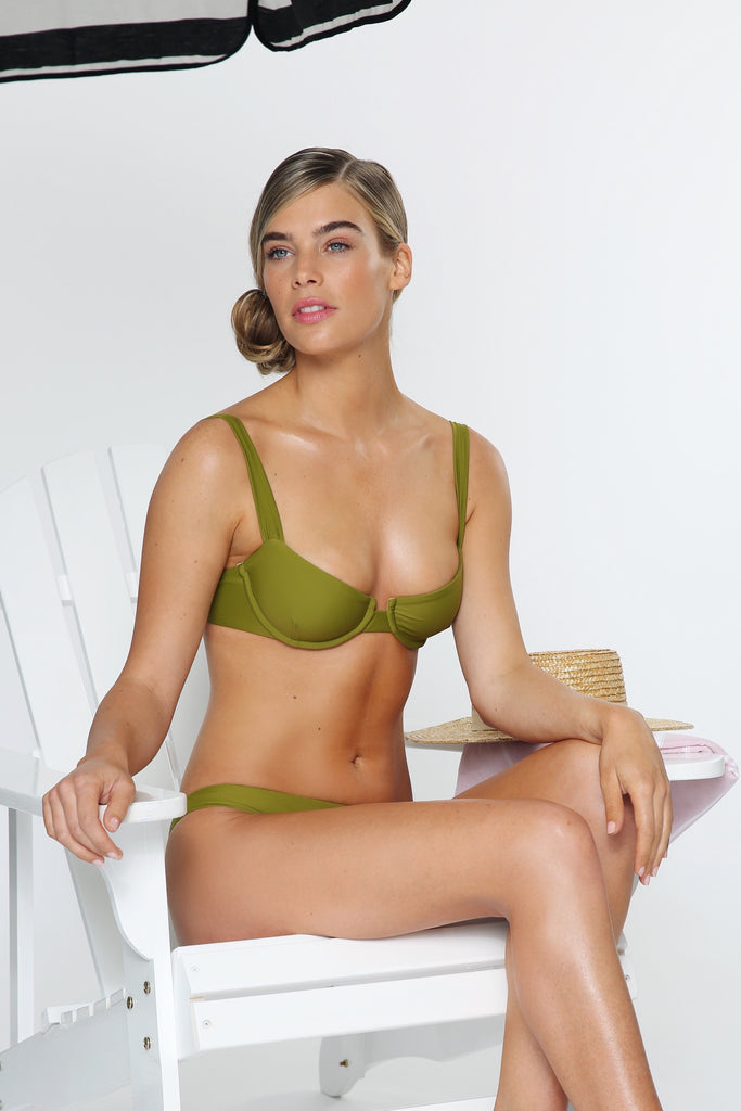 ROMANCE BRALETTE IN PALM