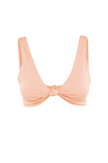 BERMUDA TOP IN PEACH