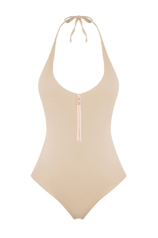 MALIBU MAILLOT IN TAUPE