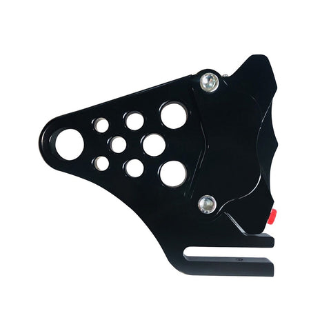 TWISTED CHOPPERS SOFTAIL REAR BRAKE CALIPER KIT-BLACK-BRAKE CALIPER-HellBend Custom Cycles