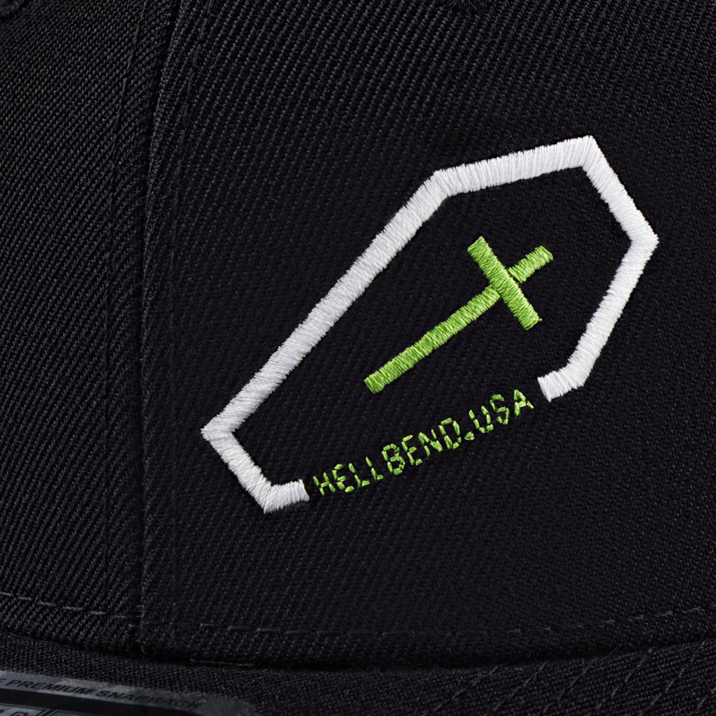 Hellbend Premium Snapback - 2WheelFiend-Apparel, Goods, & Gear-HellBend Custom Cycles