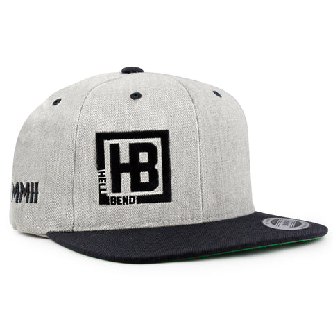 Hellbend Premium Snapback - MMII-Apparel, Goods, & Gear-HellBend Custom Cycles