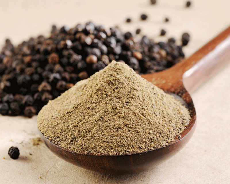 Black Pepper Extract (Piperine) Helps With Absorbtion