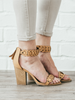 Braided Camel Heel