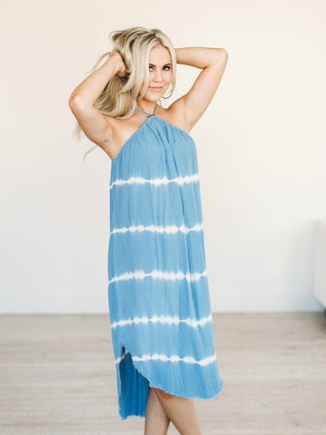 Blue Eyed Sleeveless Top