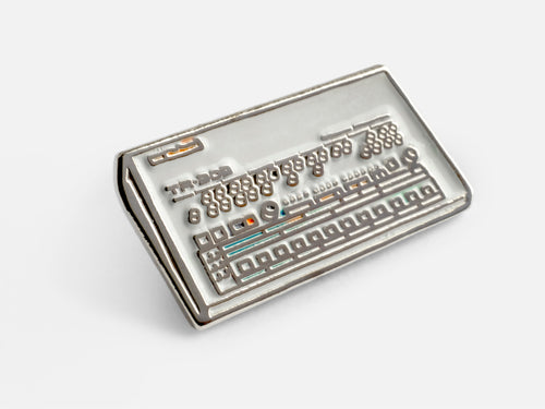 Roland TR-909 Enamel Pin Badge