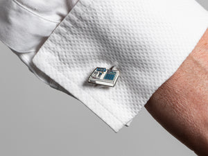 MPC 2000 Silver Sterling Cufflinks