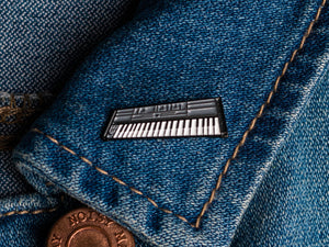 MIDI Keyboard Enamel Pin Badge