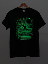 Cats on Synthesizers in Space - Glow In The Dark T-Shirt