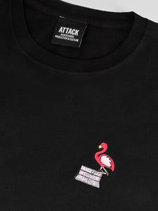 Attack x Amber Anderson: Flamingo T-shirt