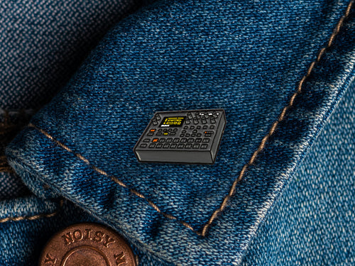Elektron Digitakt Enamel Pin Badge