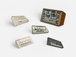 Roland Pin Badge Bundle