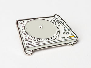 Technics SL-1200 Enamel Pin Badge