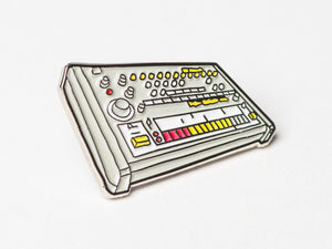 Roland TR-808 Enamel Pin Badge