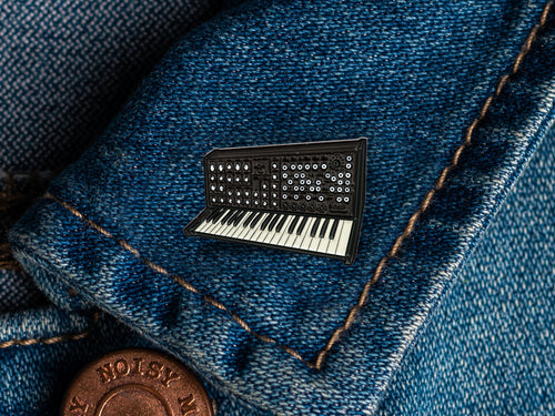 Korg MS-20 Enamel Pin Badge