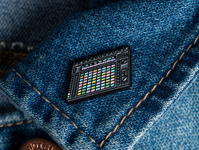 Ableton Push 2 Enamel Pin Badge