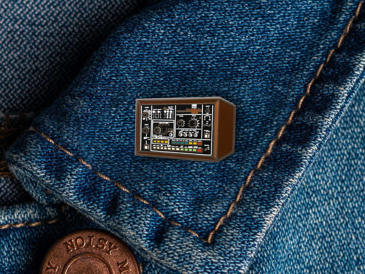 Roland CR-78 Enamel Pin Badge