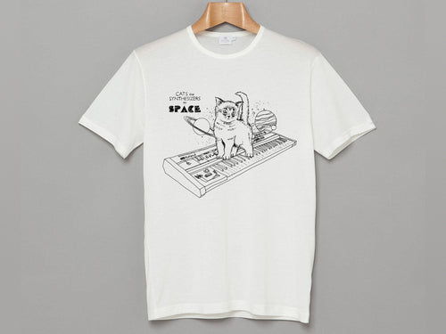 Cats On Synthesizers In Space - T-Shirt