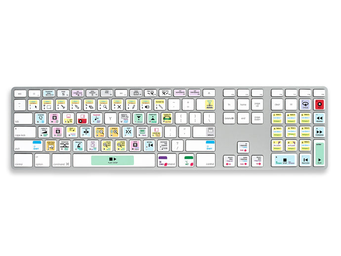 Cubase Keyboard Shortcut Stickers