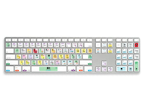 Logic Pro X Keyboard Shortcut Stickers