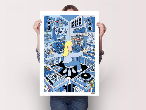 Attack x Kyle Platts 'Wall Of Noise' poster