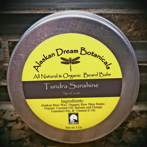 Tundra Sunshine Spa Grade Beard Balm - Alaskan Dream Botanicals
