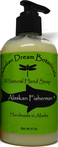 Alaskan Fisherman Hand Soap - Alaskan Dream Botanicals
