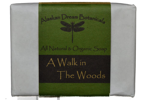 A Walk In The Woods Everyday Bar Soap - Alaskan Dream Botanicals