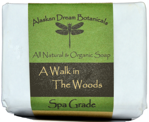 A Walk in the Woods Spa Grade Bar Soap - Alaskan Dream Botanicals