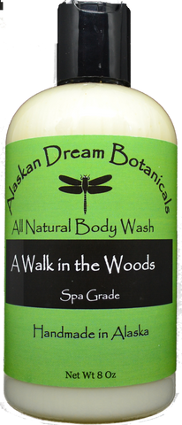 A Walk in the Woods Spa Grade Body Wash - Alaskan Dream Botanicals