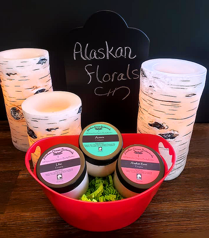 Alaskan Florals Body Butter Basket