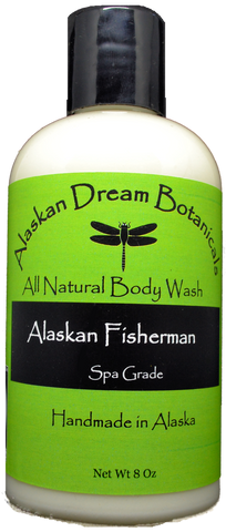 Alaskan Fisherman Spa Grade Body Wash - Alaskan Dream Botanicals