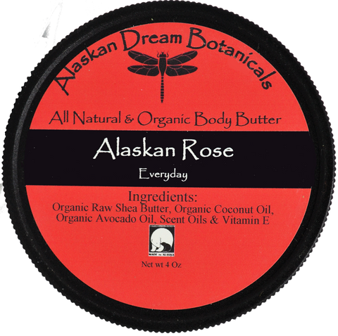 Alaskan Rose Everyday Body Butter - Alaskan Dream Botanicals