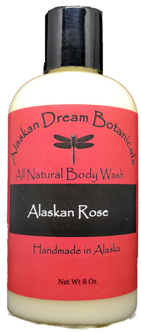 Alaskan Rose Everyday Body Wash - Alaskan Dream Botanicals