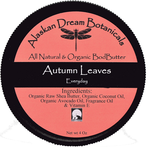 Autumn Leaves Everyday Body Butter - Alaskan Dream Botanicals
