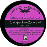 Backpackers Bouquet Pink Himalayan Salt Scrub - Alaskan Dream Botanicals