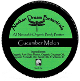 Cucumber Melon Everyday Body Butter - Alaskan Dream Botanicals