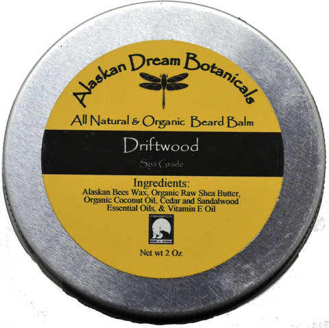 Driftwood Spa Grade Beard Balm - Alaskan Dream Botanicals
