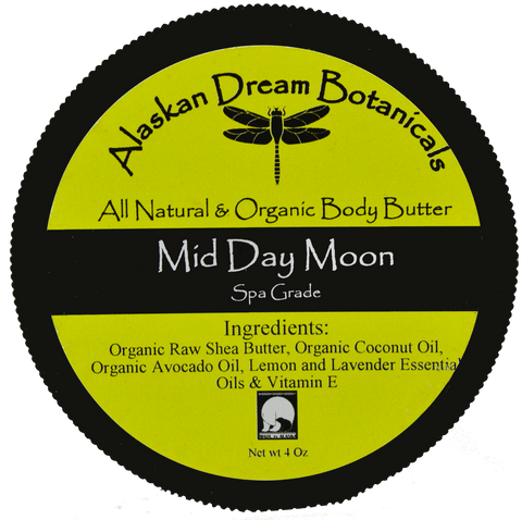 Mid-Day Moon Spa Grade Body Butter - Alaskan Dream Botanicals