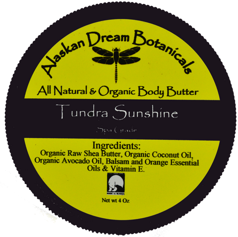 Tundra Sunshine Spa Grade Body Butter - Alaskan Dream Botanicals