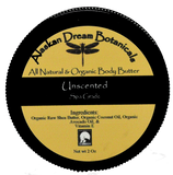 Unscented Shea Body Butter - Alaskan Dream Botanicals