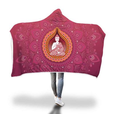 Buddha Love Hooded Blanket