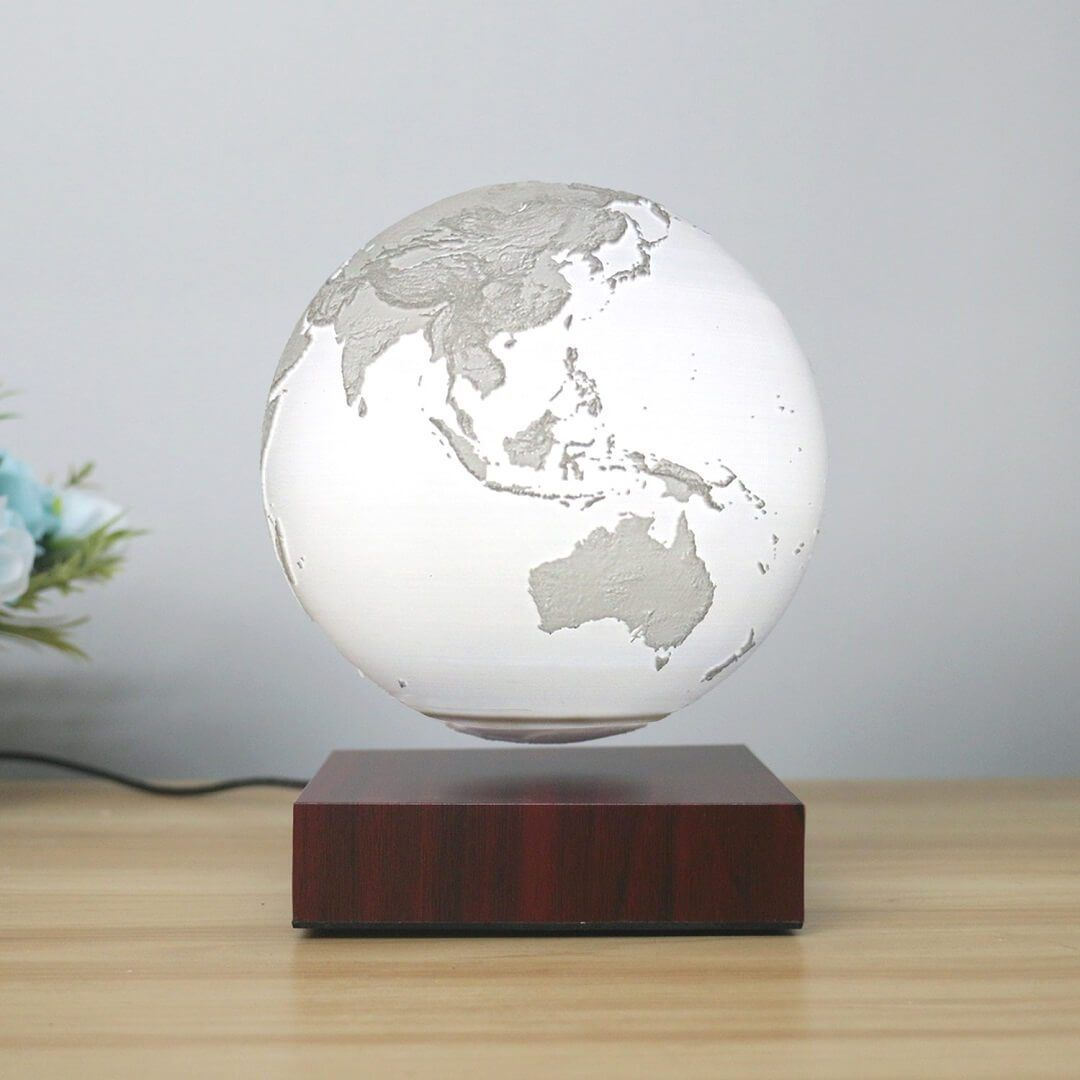 Levitating Earth Lamp