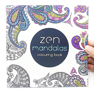 Zen Mandalas Meditative Coloring Book