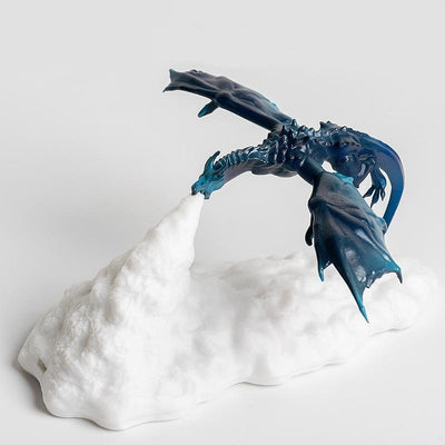 Dragon Fire 3D Printed LED Lamp