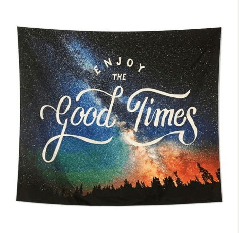 Milky Way - Enjoy The Good Times Tapestry