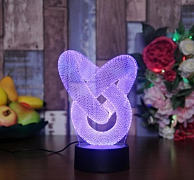 3D LED Organism night light - My Metanoia Co