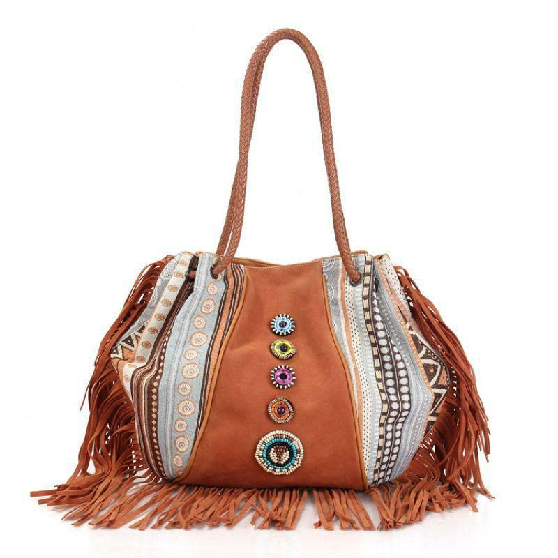 Bohemian Tassel shoulder bag